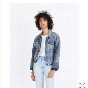 Madewell Daisy Denim Jacket like new!